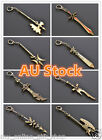 League of Legends LOL PC Game Theme Weapons Model Cosplay Keyring Key Chain New