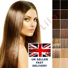 """100% Remy Human Hair Extensions 22"""" Full Head WEFT. UK SELLER!"""