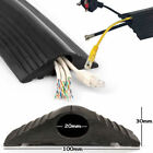 Floor Cable Cover Protector | Rubber Heavy Duty Trunking | Wire Cable Tidy