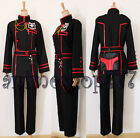 D Gray-man DGM Allen Walker Uniform III 3rd Cosplay Costume Tailored Free Ship