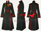 D Gray-man DGM Yu Kanda Uniform III 3rd Cosplay Costume Tailored Free Shipping