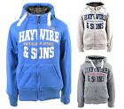 NEW JUNIOR BOYS HAYWIRE CYGNUS KIDS FAUX FUR LINED HOODIE JACKET SB MB LB XLB