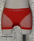Cyber Goth Industrial Punk Rave Fishnet Sides Shorts Hot Pants Choose Color OS