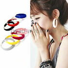 One Pair Ladies Grils' Shine Party Street Ear Clip Stud Earrings New Fashion