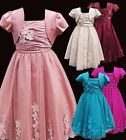 Beautiful Girls Party Dress Flower Girls Bolero Wedding Dresses Age 1 to 14 YRS