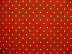 CATH KIDSTON COTTON FABRIC 'MINI DOT' RED REMNANT WHITE SPOTS  + FREE GIFT