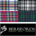 Berisfords Ribbons Traditional Scottish Tartan Approved 16mm 2 Metres, 7622