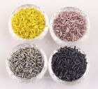 Wholesale 1000pcs  Glass Spacer Beads Tube Czech 6x8mm Jewelry Making