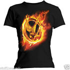 Official The Hunger Games Catching Fire   Fire Mockingjay T Shirt  All sizes 68