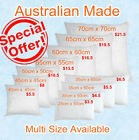 Buy 1,2,4 or 10 Aus Made New Cushion Inserts Premium Polyester Fibre Filling