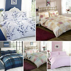 New Percale Duvet Quilt Cover Bedding Sets Single, Double, King