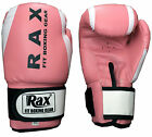 RAX  Boxing Gloves Punching Bag Sparring Training Mitts MMA kick boxing 10-16 oz