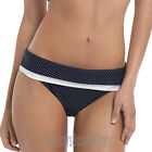 Panache Swimwear Britt Fold Bikini Brief/Pant/Bottoms Navy SW0827 Select Size
