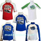 GUL BOYS RASH VEST RASH GUARD UV PROTECTION children junior kids
