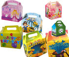 Children's Party Food/Lunch Boxes - Princess, Unisex, Pirate, Football, etc