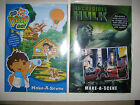 Make-A-Scene Various Sets Reuseable Stickers Create Pictures Adventures Learn BN
