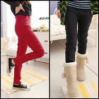 Maternity Skinny Trousers Pencil Stretch Pants Pregnancy Leggings 8 10 12 M L