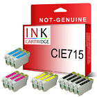 14 Ink Cartridge Replace For T0715 TO715 T0711 - T0714 (NOT GENUINE)