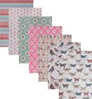 A5 Fabric Stickers. Craft, Scrap-booking. Various. 'Cut it out & Stick it on'.
