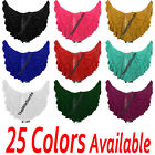 TMS 16 Yard 4 Tier Skirt Belly Dance Gypsy Costume Troup Tribal Club  25 Colors
