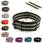 Military MoD Nato G10 Nylon Watch Strap Band Waterproof PVD 18mm 20mm 22mm 24mm