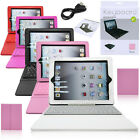 "Bluetooth Wireless Keyboard Case Cover 9.7"" For iPad 2/3/4 With Stand"