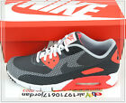 Nike Air Max 90 JCRD Jacquard White Dark Grey Black Infrared 631750-100 US 7~11