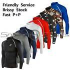 Mens Compression Long Sleeve Top Sports Base Layer Running Gear Gym Rugby Take 5