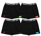 4 X Pack Frank and Beans Boxer Shorts S M L XL XXL XXL XXL Mens Underwear