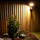 SOLAR OUTDOOR GARDEN SECURITY WALL FLOOD LIGHT WITH PIR MOTION SENSOR 16 SMD LED