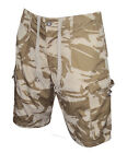 British Army - DESERT CAMOUFLAGE SHORTS - Brand NEW - Military/Soldier/Summer