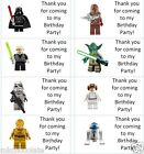 40 x Personalised Lego Star Wars labels/stickers/birthday/party/sweets/bag