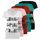 GUESS Stop The Moment Cotton T-Shirt