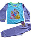 Disney Princess Girls Pyjama Set Pjs Sleeping Beauty Cinderella 2 to 4 yr  BNWT