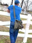Men's Canvas Messenger Military Crossbody Tool bag - 3 colors to choose from