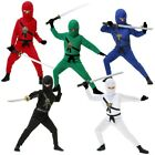 Kids Ninja Costume Ninjago Halloween Fancy Dress