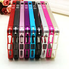 Luxury Thin Aluminum Metal Bumper Case Cover For Apple iPhone 4 4S iphone 5 5s