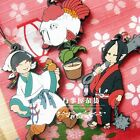 Hozuki no Reitetsu Rubber Strap Collection Hakutaku/Kingyo
