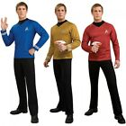 Star Trek Costumes Adult Deluxe Star Fleet Uniform Halloween Fancy Dress on eBay