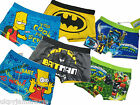 Boys Character Trunks Underwear Boxer Briefs Batman Skylanders Avengers Thomas