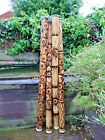 Fair Trade Hand Carved Made Bamboo Burnt Aboriginal Style Woodwind Didgeridoo