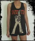 **Robert Plant Jimmy Page Unisex Vest** Singlet Tank-Top T-Shirt Sizes S M L XL