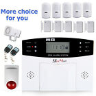 LCD SECURITY WIRELESS GSM SMS AUTODIAL OFFICE HOME INTRUDER BURGLAR ALARM SYSTEM