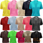 NEW LADIES WOMENS COTTON KNITTED SHORT SLEEVE SHRUG SUMMER CROP TOP CARDIGAN