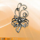 Echt Etnox Flower Ring 925 Sterling Silver, Gothic,1ST CLASS RECORDED DELIVERY