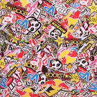 STICKERBOMB AIR FREE/ BUBBLE FREE VINYL WRAP MOTOR RACING STICKER BOMB CAR BIKE