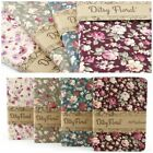 New Vintage Shabby Chic Style Ditsy Floral 80 Page Journal Notebook. Gift Idea
