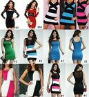 Sexy Lady women One Shoulder Club Evening Party Cocktail Clubwear bodycon Dress