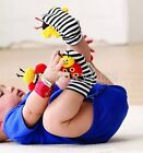 Baby Wrist Strap Ringing Bell Foot Socks Rattle Toys MOZ