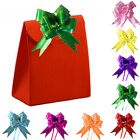 10Pcs Pull Back Bow Gift Wrapping Birthday Wedding Party Decor Ribbon 50MM Bows